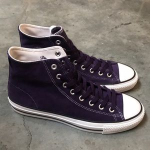 Chuck Taylor All Star Pro Purple Suede, New!